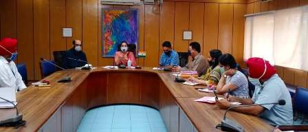 The Deputy Commissioner reviewed the preparations for the employment fairs to be held in the district