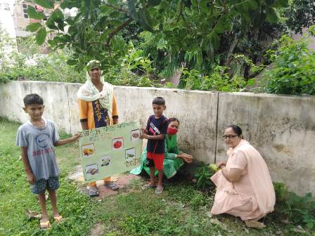 Nutrition Month is being celebrated from 1st to 30th September in Block Nurpur Bedi